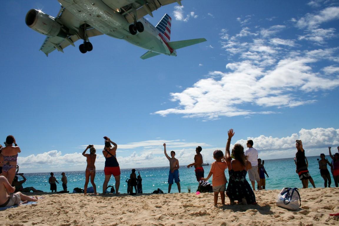 Lotnisko na Maho Beach
