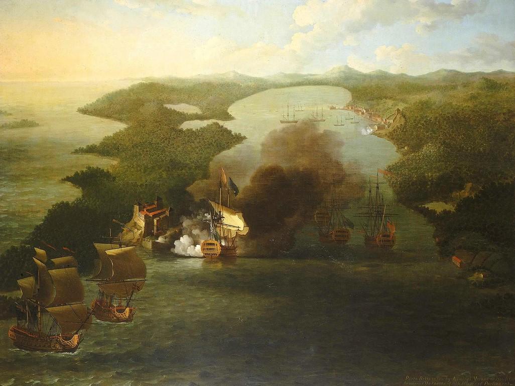 Samuel Scott - atak na Portobello