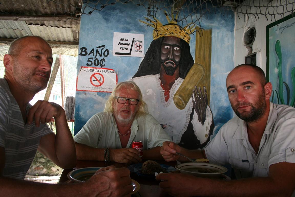 Z Heniem i Kaziem w Portobello
