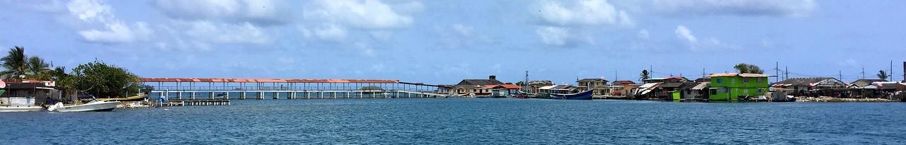 Most pomiędzy Yandup (Nargana) a Akuanusatupu