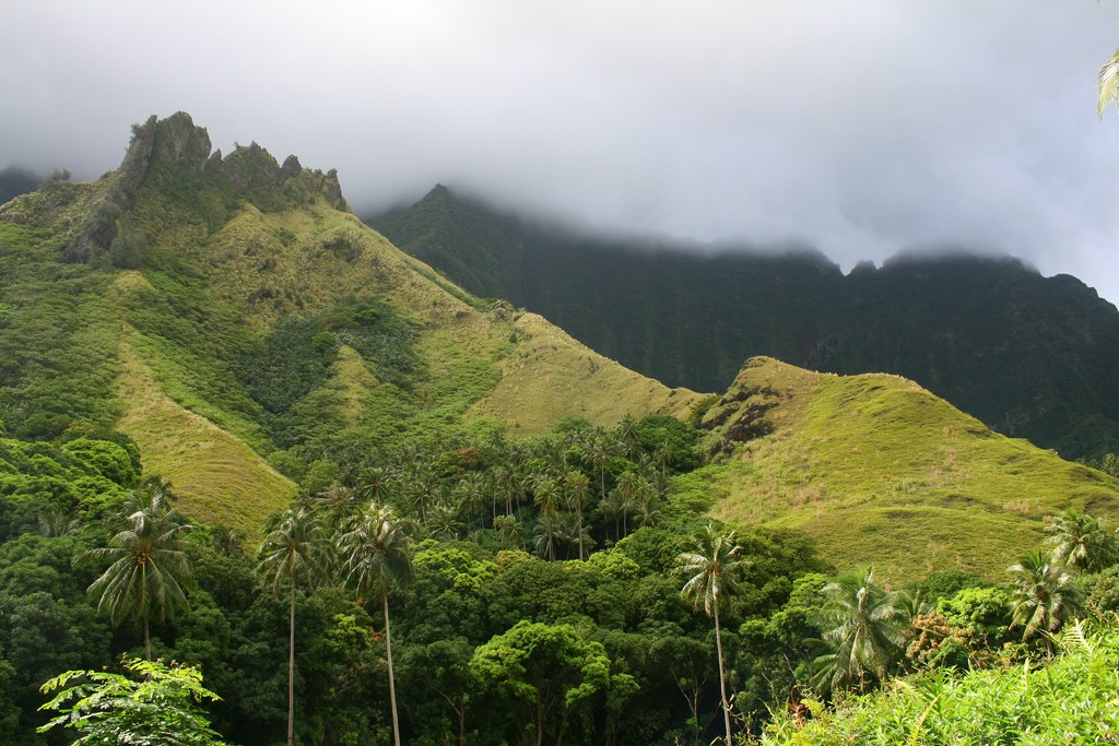 Krajobrazy na Fatu Hiva 1