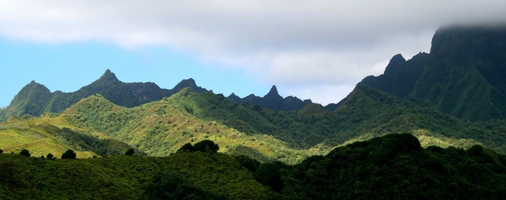 Krajobrazy na Fatu Hiva 2