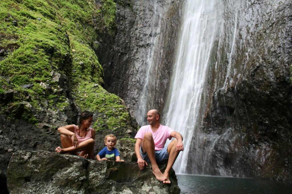 Wodospad na Fatu Hiva
