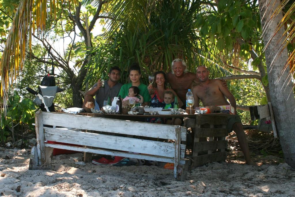 Piknik z Danielem i jego rodziną na Katiu