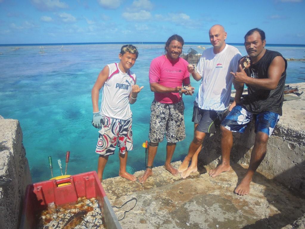 Po podwodnym polowaniu z Jean Marie