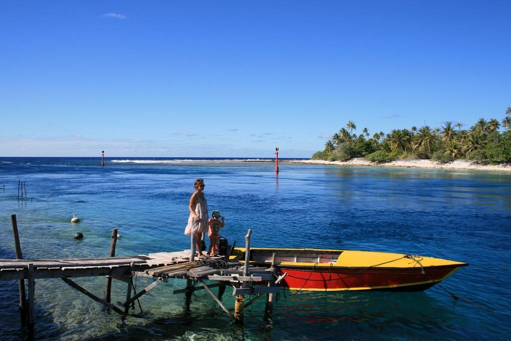 Wejście do atolu Katiu