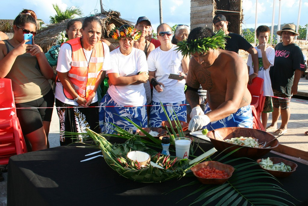 Konkurs kulinarny w ramach Heiva na Bora Bora