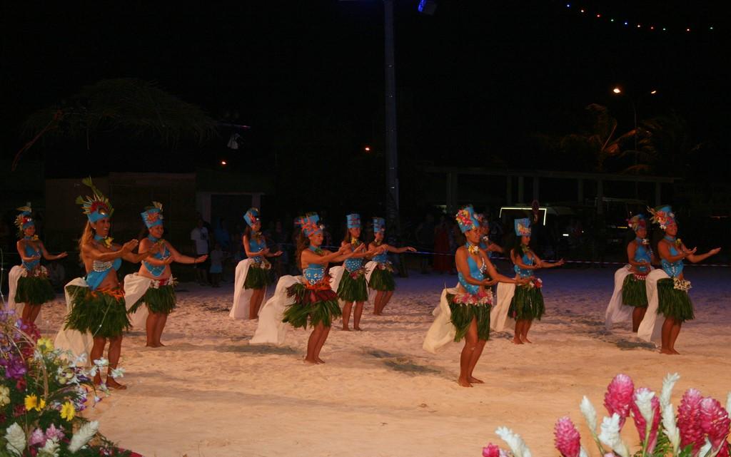 Konkurs tańca w ramach Heiva na Bora Bora
