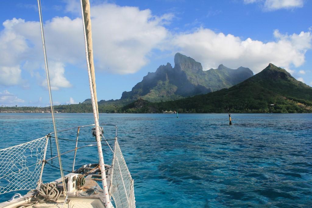 Labirynt rafy na Bora Bora