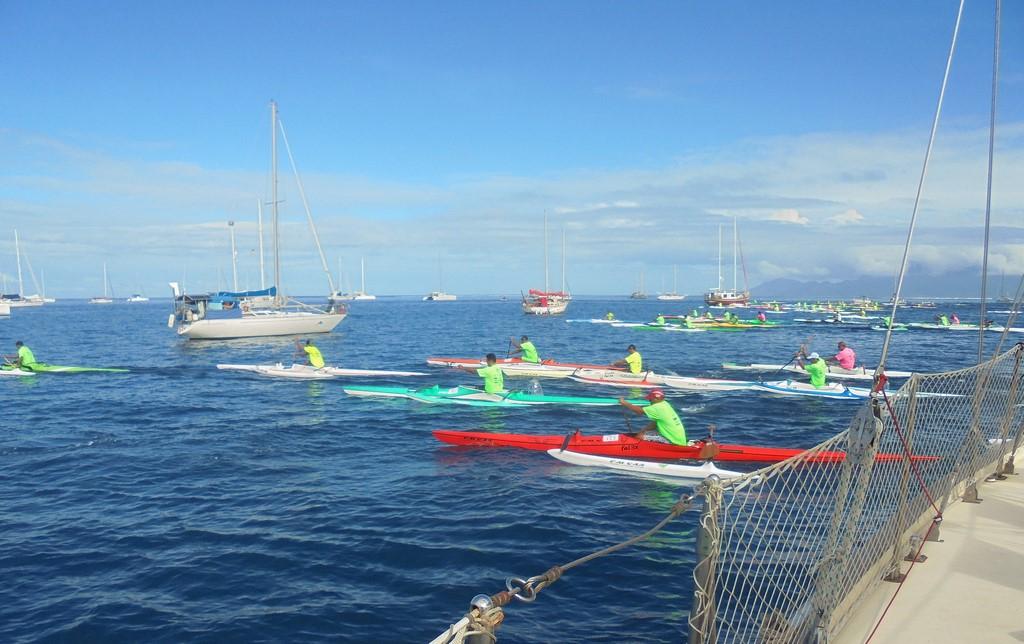 Wyścigi Va'a na Tahiti