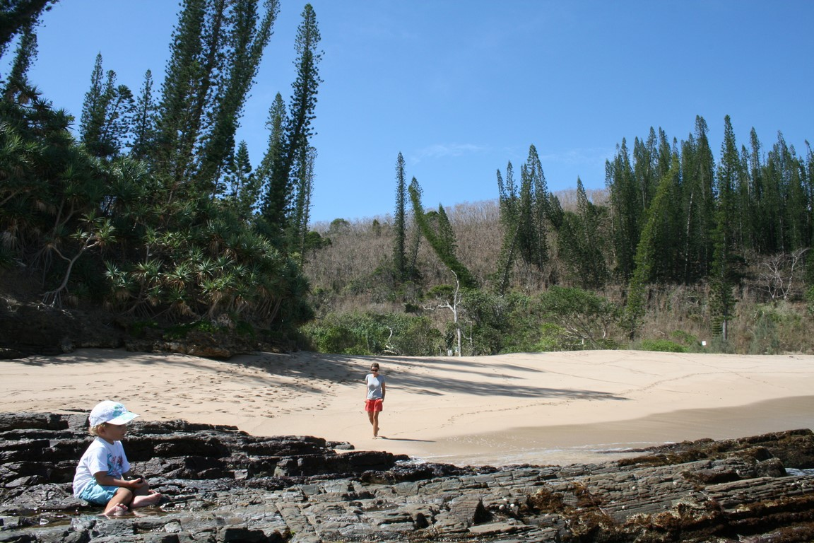 Baie des Tortues na Nowej Kaledonii