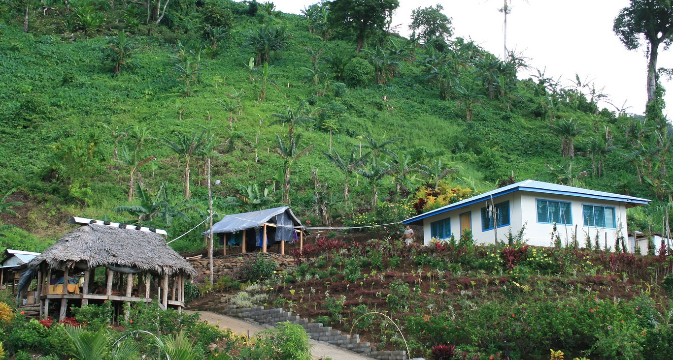 Dom otwarty i dom zamknięty na Samoa 1