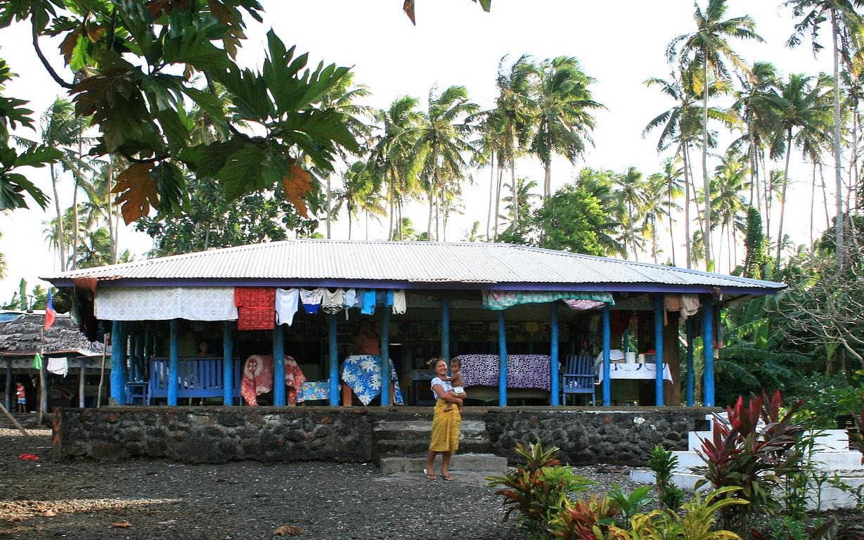 Dom otwarty na Samoa
