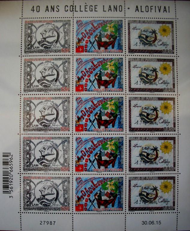 Znaczki pocztowe z Wallis