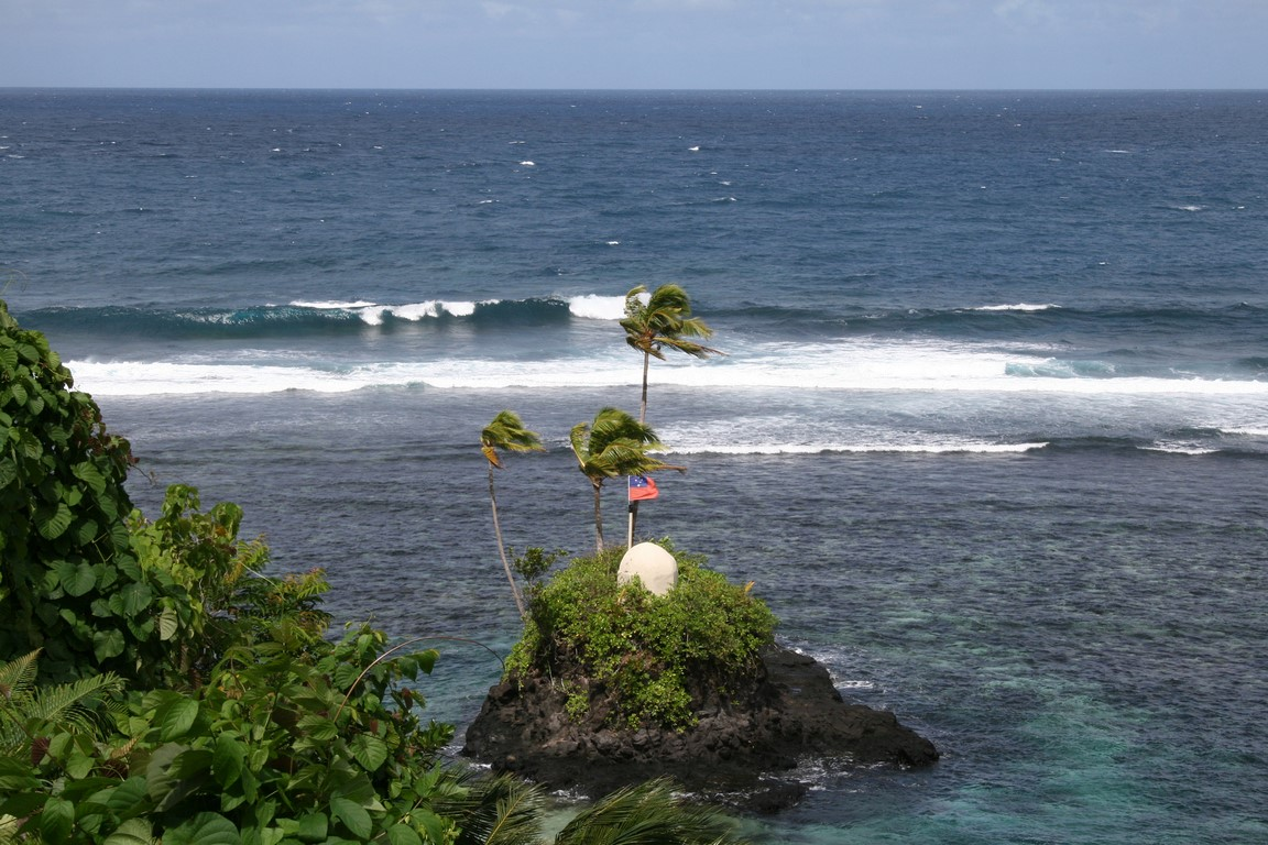 Południowe wybrzeże Upolu na Samoa