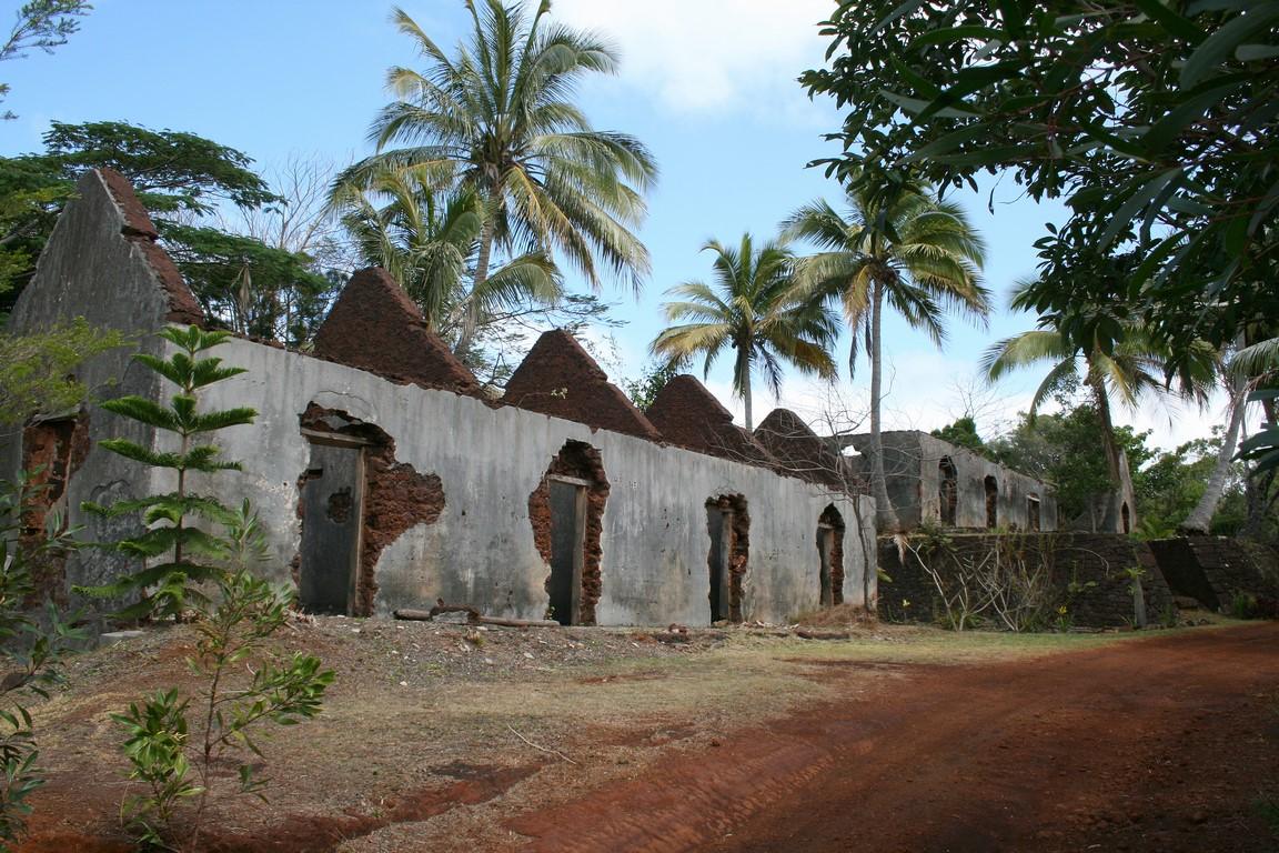 Stare więzienie Port Boisé na Nowej Kaledonii