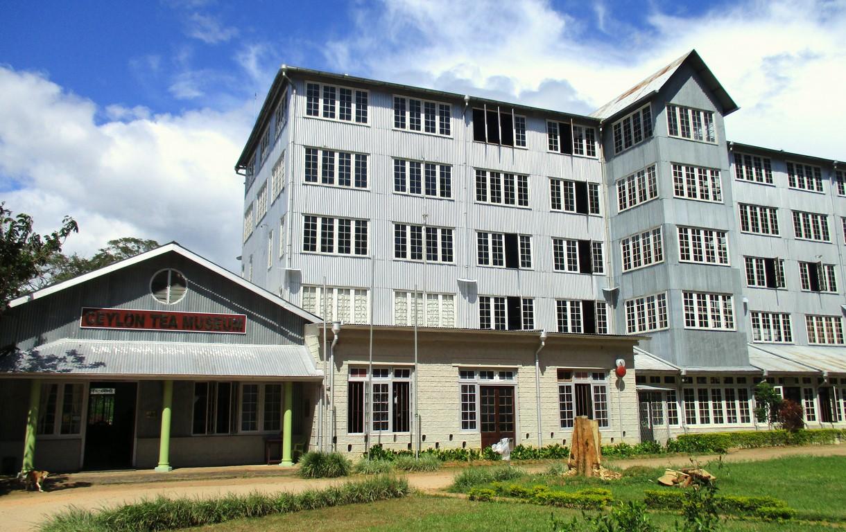 Budynek muzeum herbaty w Kandy