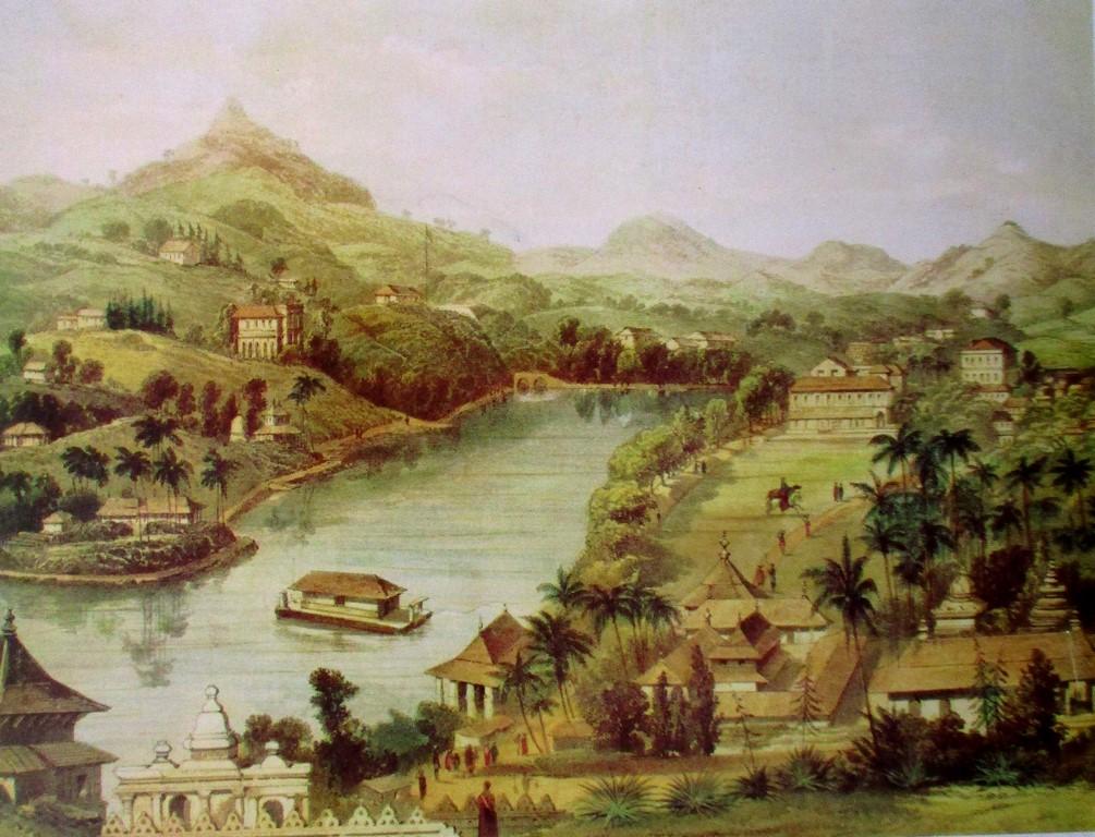 Stara panorama Kandy