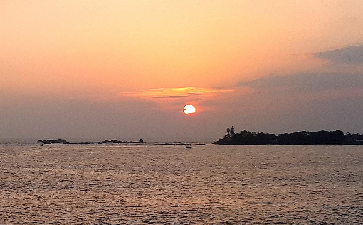 Zachód słońca nad Galle