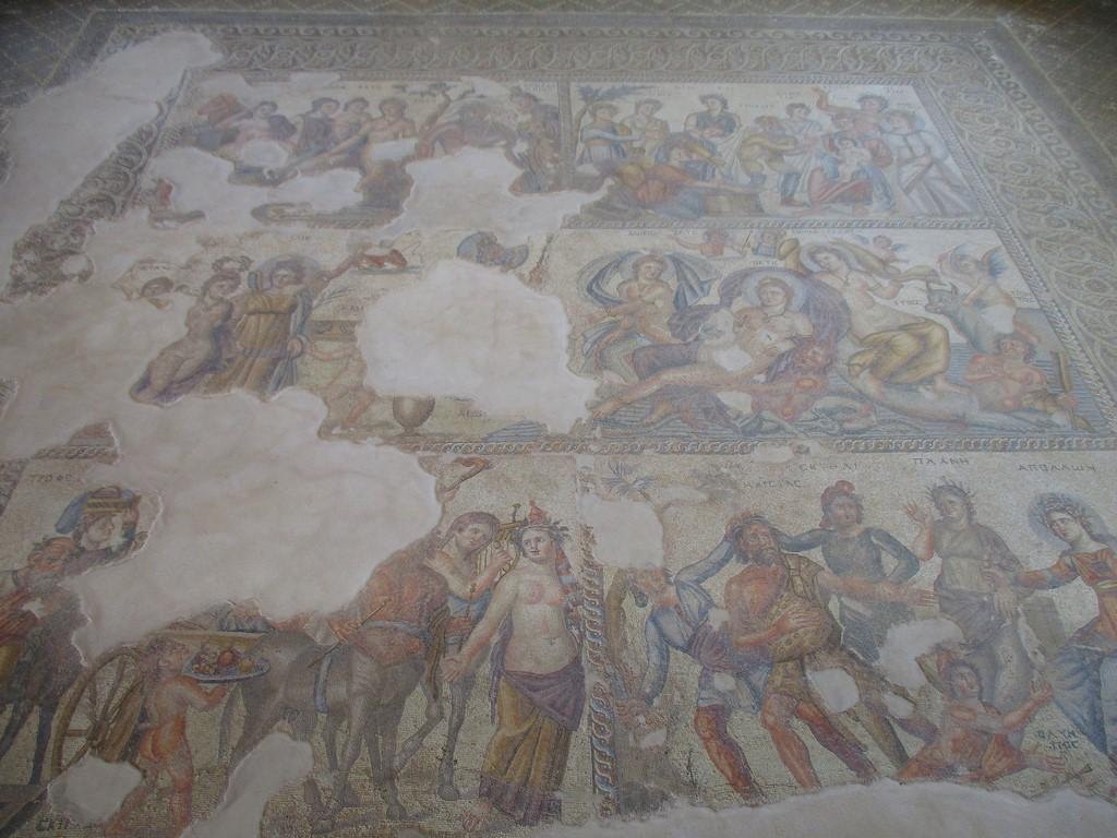 Mozaiki w Paphos