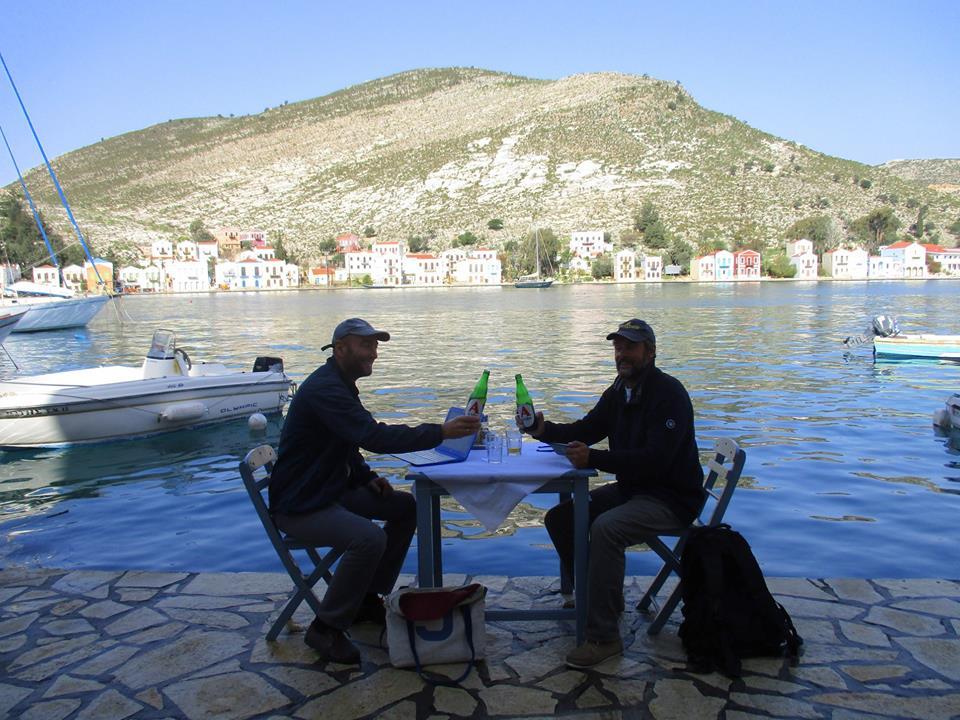 Z Leszkiem w Grecji