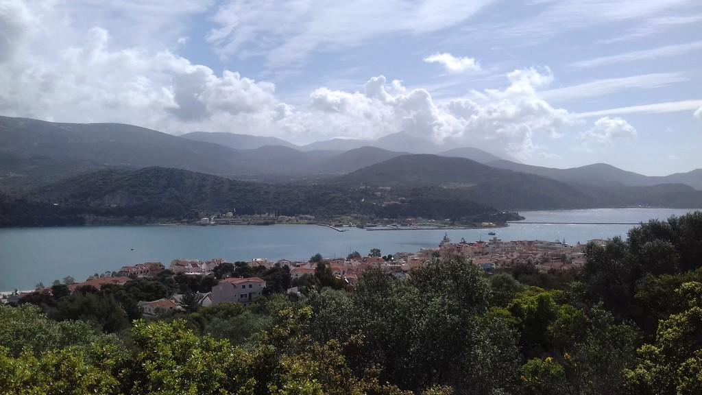 Argostoli z góry