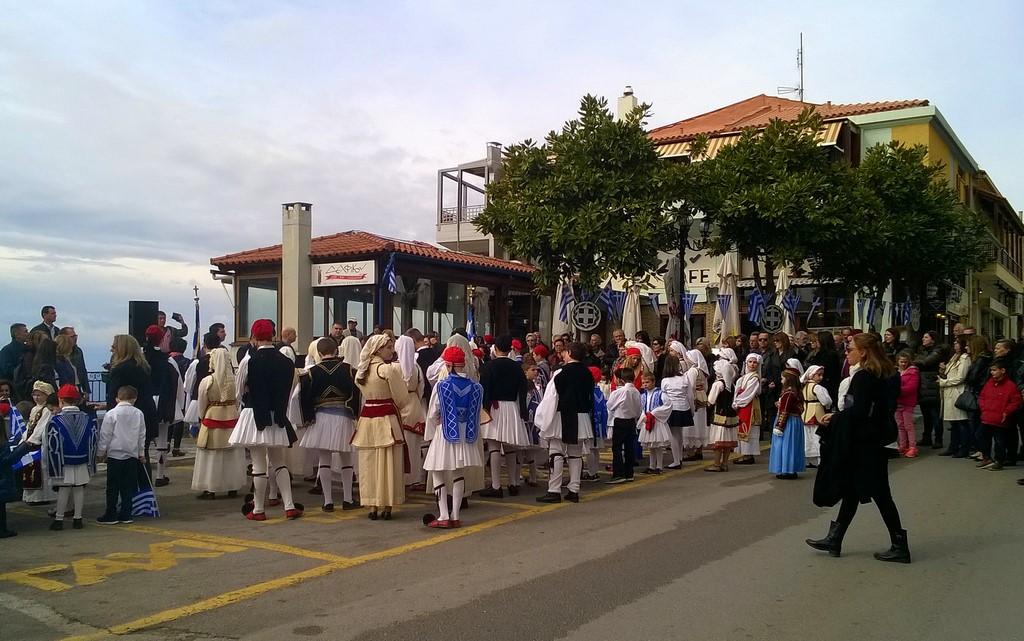 Dzień Niepodległości w Delfach