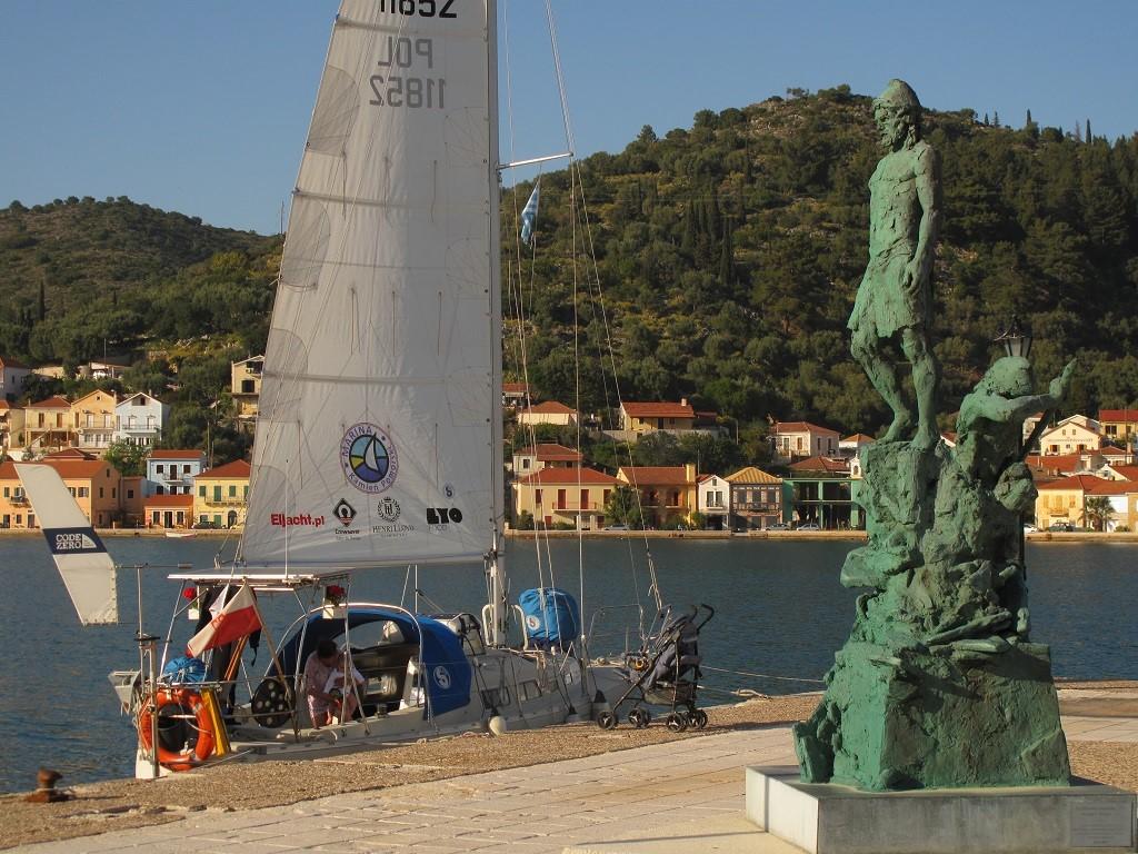 Pomnik Odyseusza w Vathi na Itace