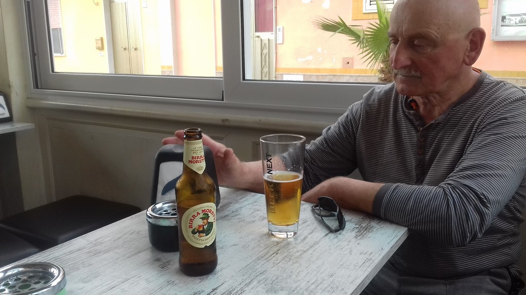 Porto Palo piwko w barze