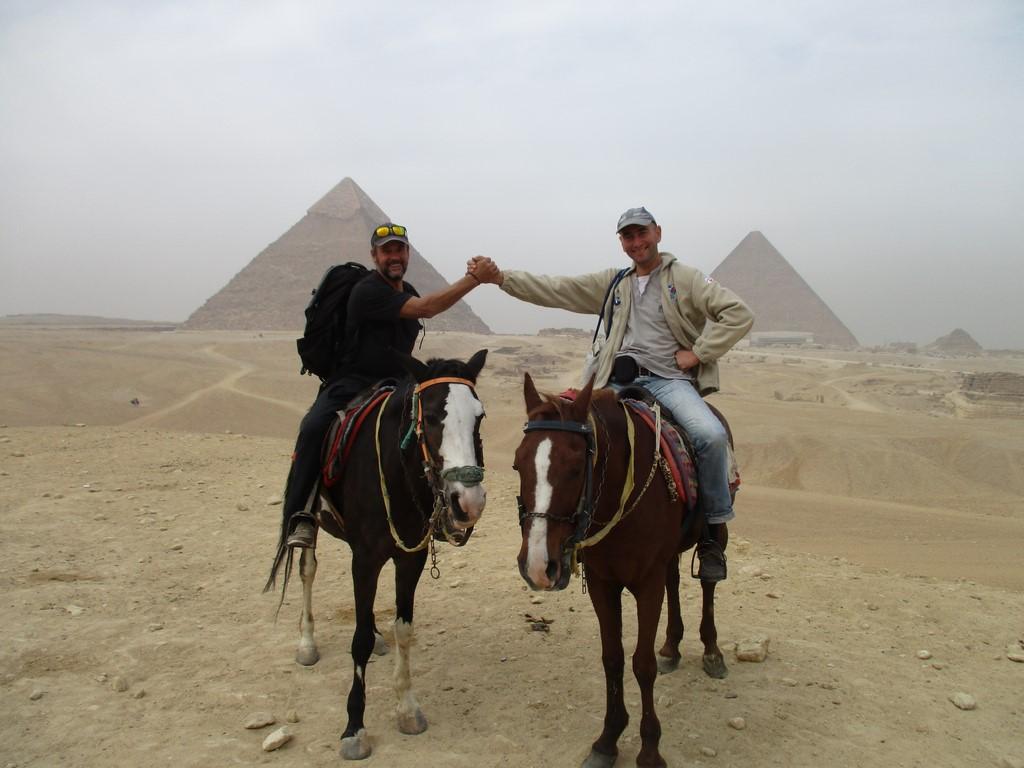 Z Leszkiem pod Piramidami